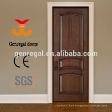 Puertas de dormitorio de madera maciza 100% barnizada