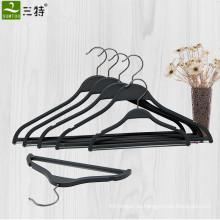 Zara Flat Black Plastic Hemdaufhänger für Display