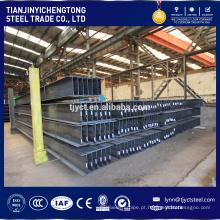 Material de construção laminado a alta temperatura / SS400Elementos de estrutura de aço H Beam