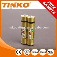 LR03 alkaline battery with good quality