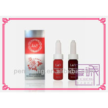 Permanent Solution Cosmetic Tattoo Permanent Makeup Ink over 22 Colors - 12ml Bottles Liquid