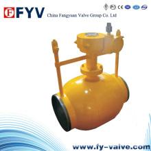 API6d Fully Welded Pipeline Ball Valves