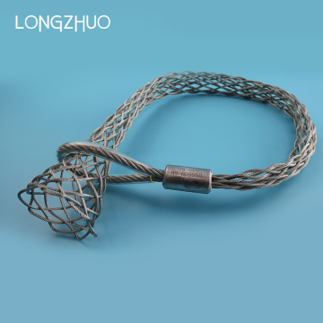 Single Eye Weave Mesh Steel Wire Pulling Grip