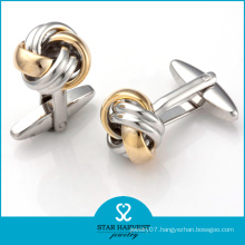 Fashion Brass Cufflinks Accessory with Custom Design (BC-0009)