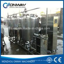 Edelstahl-CIP-Reinigungs-System Alkali-Reinigungsmaschine für die Reinigung in Ort Industrial Edelstahl-Reinigungs-Tank