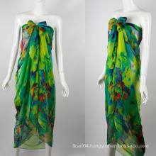 In stock beach cover up towel sarong beach wholesale