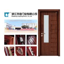 Porta de madeira da entrada interior para Toliet (LTS-205)