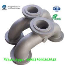 Cotovelo de fundição de alumínio personalizado de fundição
