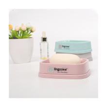 Creative Draining Soap Box Perforated Bathroom Soap Storage Box Non-slip Soap Holder