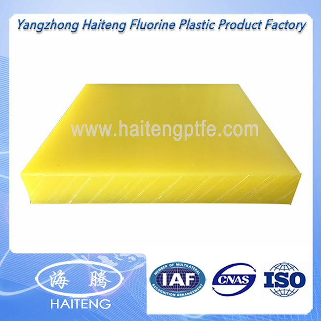 Uhmwpe Sheet With Yellow Color