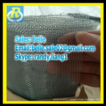 G.I galvanized window screen/iron screen to anti insect and mosquito