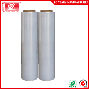 LLDPE palet wrap packaging transparente
