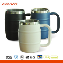 Everich 12oz Stainless Steel Coffee Mug With Handle