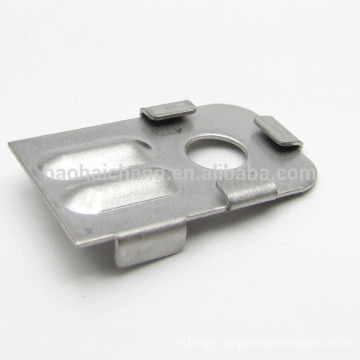 Punching Electric Iron Part Flange shell household electrical appliances
