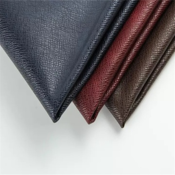 Vegan Cross Pattern Package Leather για γυαλιά