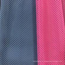 Tissu de maille d'oeillet de spandex de polyester