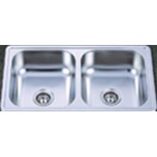 Cupc fregadero de cocina de acero inoxidable de América del Norte (ktd3319b)