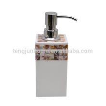 Canosa, rivière, Mère, perle, coquille, mosaïque, salle de bain, bouteille, pompe, distributeur