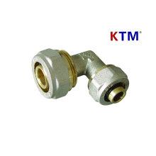 Instalación de tubería de latón - Codo reductor (tubería, instalación de tubería de pex-al-pex de plomería láser)