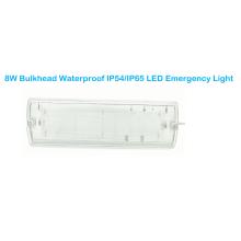 Mamparo LED Impermeable IP54 / IP65 Luz de emergencia LED