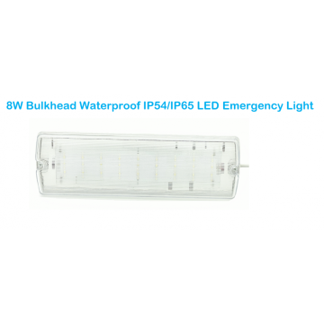 Mamparo LED Impermeable IP54 / IP65 Luz de emergencia LED