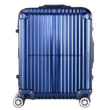 Elegant Full Aluminum Magnesium Alloy Carry on 4 Wheel Spinner Travel Case (BOA-1288)