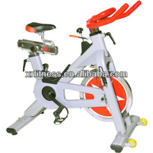 Bicicleta de fiação confortável popular / equipamentos para exercícios aeróbicos