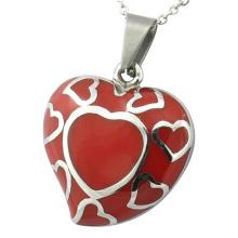 Enamel Pendant Stainless Steel Pendant Heart Pendant