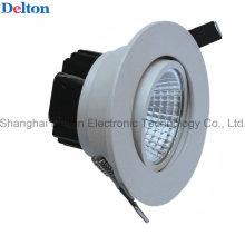 Luz de teto flexível do diodo emissor de luz da COB 7W (DT-TH-7E)
