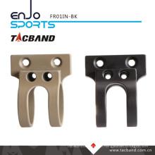 Tacband Offset Tactical Flashlight Mount LED Flashlight for Keymod 1 Inch Ring Black