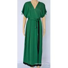 Women Temperament V-neck Dress