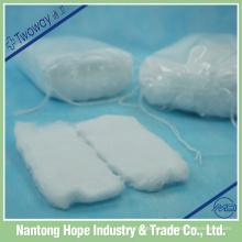 almofada de algodão quadrado orgânico