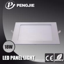 Plafonnier blanc de 18W LED pour le bureau