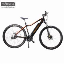 """Горячая продажа 26"""" БАФАНЕ центральным приводом дешевые электрический велосипед с спрятанной батареей ,зеленый горный e велосипед из Китая"""