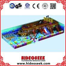 Piratenschiff Indoor Spielplatz Ausrüstung für Kinder