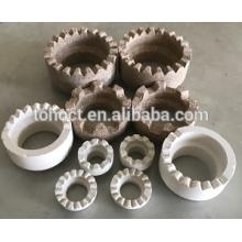 Nelson studs proveedor exclusivo férulas de cerámica para soldadura de perno anillo de cerámica