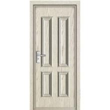 Fashion interior PVC door PVC wooden door