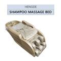 Hair salon massage bed with leg massage / shampoo massage bed