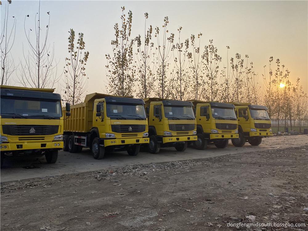 Refursbished Used Howo 6x4 10 Wheels Dump Truck10
