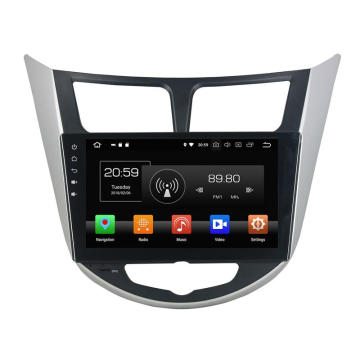 10.1 inch Deckless Car DVD voor Hyundai Verna