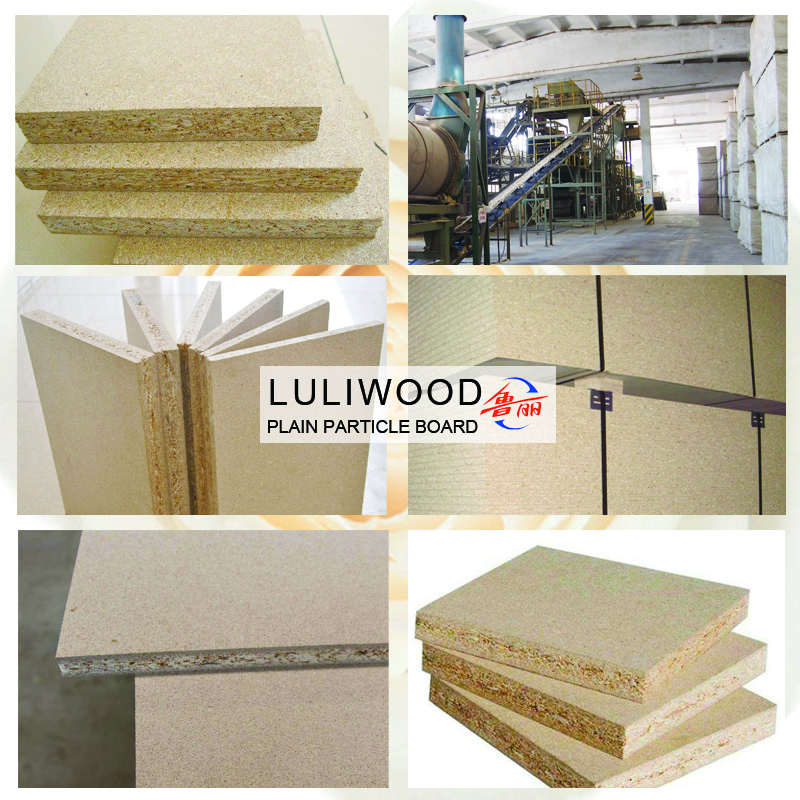 plain particle board