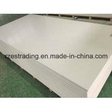Placa de espuma brancos 4 * 8 pés do PVC para a construção