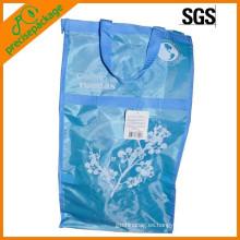 bolso de mano grande plegable de la bolsa de asas de compras