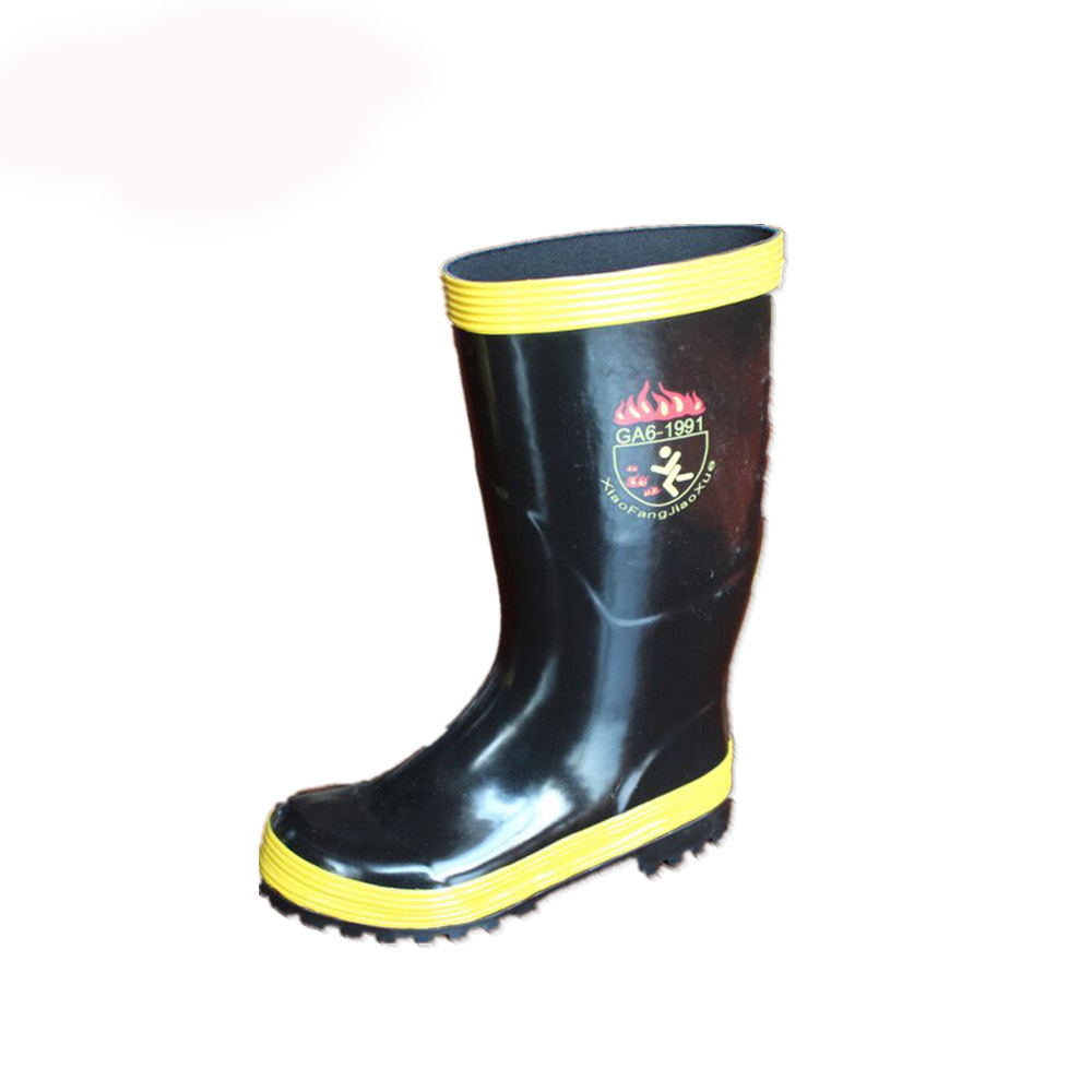 fireman rubber boot