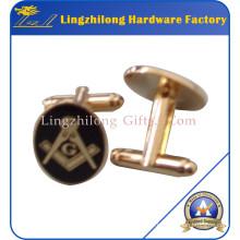 Hard Enamel Masonic Logo Bulk Cufflinks
