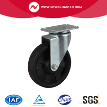 Hi-Temp. 268 ℃ 4 pouces 100Kg Plate Swivel HP Caster