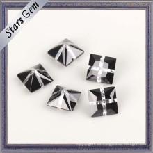 Piedra de zirconia cúbica de color mezclado de moda de diseño único