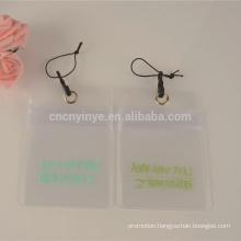 transparent cheap price pvc id card holder