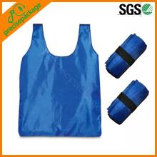 promotional nylon folded shopping bag