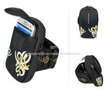 Bolso ajustable de la bolsa del brazalete deportivo para iPhone / Samsung